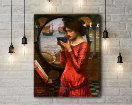 John William Waterhouse: Destiny. Fine Art Canvas.